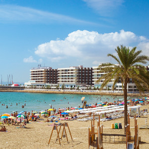 Top beaches in Valencia