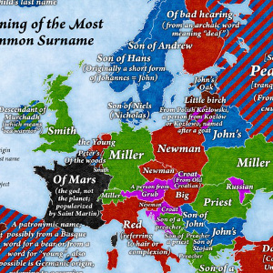 What's the most common surname in Spain?