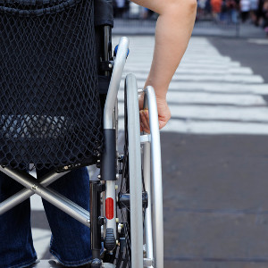 Please think about disabled pedestrians