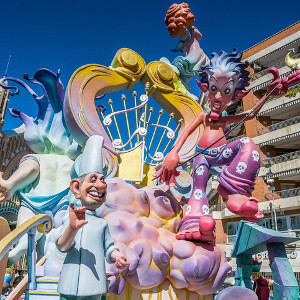 Las Fallas has finished