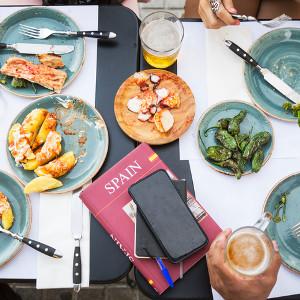James Blick tells El País about his food travels