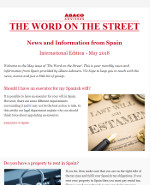 Ábaco Newsletter May 2018