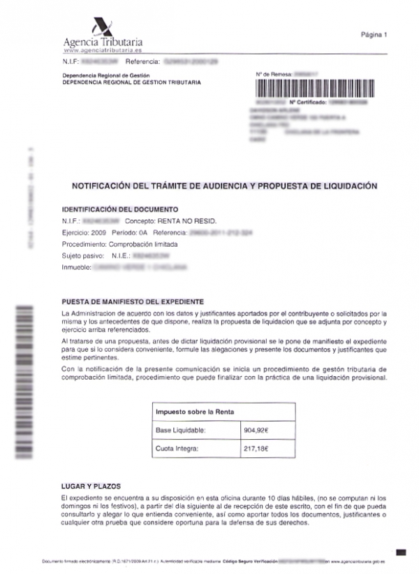 More Letters From The Spanish Tax Authority 193 Baco Advisers