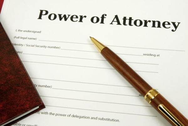 Inheritance claims and power of attorney
