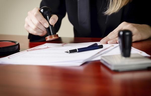 Legalisering av juridiska handlingar