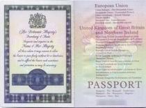 Changes to British passport applications